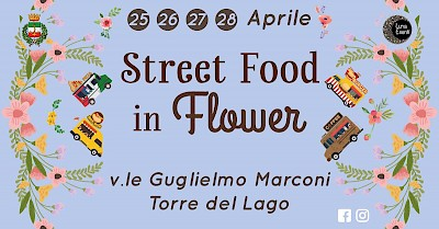 luna eventi - street food in flower - torre del lago