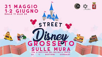 luna eventi- street food disney - grosseto